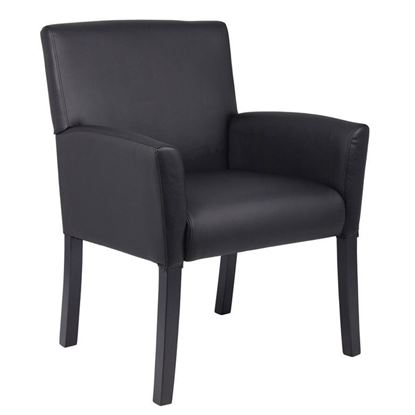 Picture of Tera Executive Box Arm Chair W/Black Legs