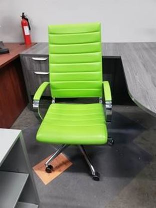 Picture of High Back Green Desk Chair