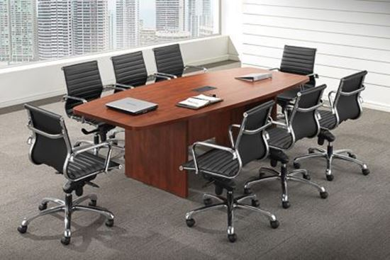 Picture of Premiera/Office Source Boat-Shape Conference Tables