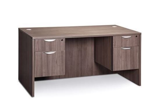 Picture of Premiera PL Series/Office Source OS Laminate Collection Double Pedestal Desk