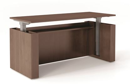 Picture of Premiera/Office Source Executive Height Adjustable Desk