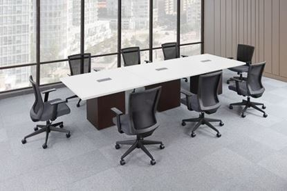 "Picture of PREMIERA® Conference Table Top Only 48"" x 48"" (Use with Cube Base)"
