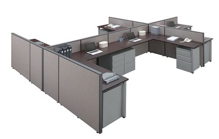 Picture for category Workstations | Cubicles