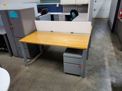 Picture of Kimball Priority Benching 30x60 Workstations (Complete Set w/power)
