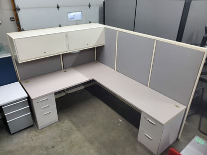 Picture of Steelcase Avenir 6x8 Workstation