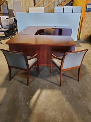 Picture of U Shaped Desk