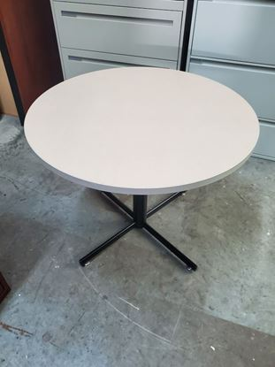 "Picture of 36"" Round Table"