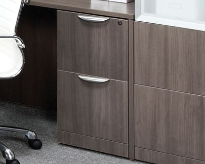 Picture of OfficeSource®  OS Laminate Collection PL175 File/File Pedestal