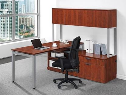 Picture of Premiera Elements/Office Source Variant Collection L Desk w/Hutch