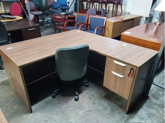 "Picture of Premiera PL Series/Office Source OS Laminate Collection L Desk 60"" x 66"""