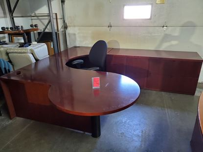 Picture of Gunlock U Shaped Desk