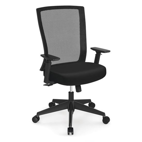 Picture of OfficeSource®  Cade Collection Executive Mesh Back Chair with Black Frame
